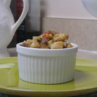 Breakfast Potatoes with Red Potatoes and Turnips