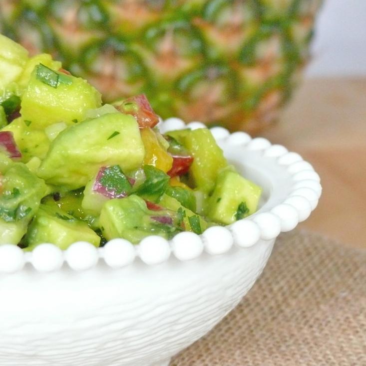 Avocado and Tropical Fruit Salsa