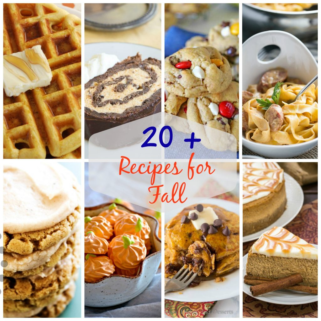 20+ Super Amazing Fall Recipes