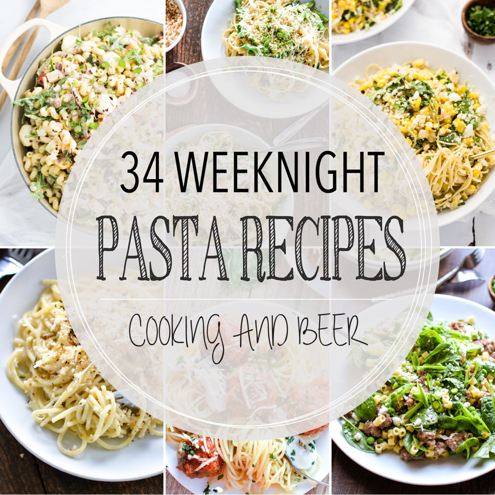 34 Family-Friendly Weeknight Pasta Recipes
