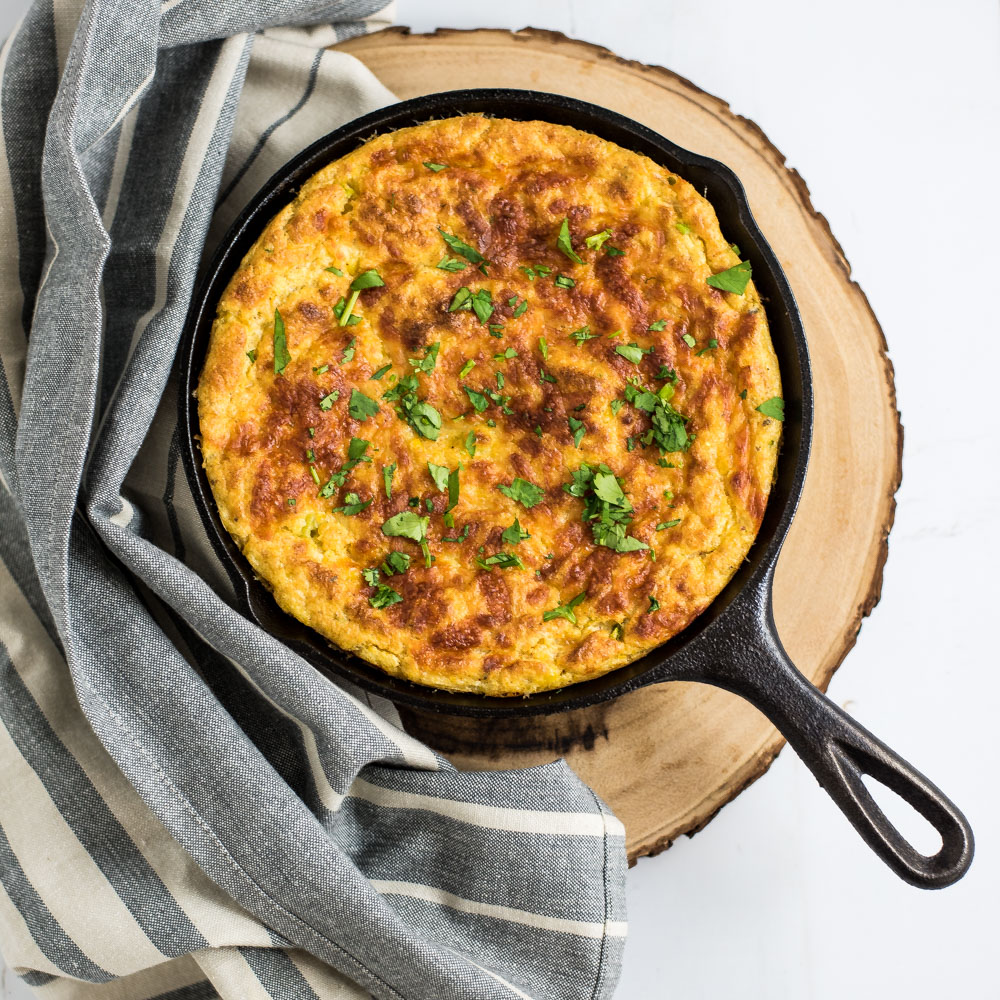 Southwestern Spoon Bread