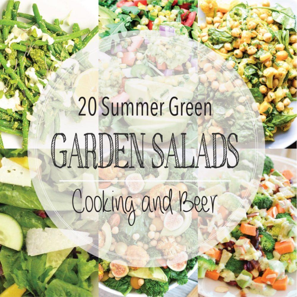 20 Summer Green Garden Salads