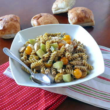 """All Things Veggie"" Pasta Salad"