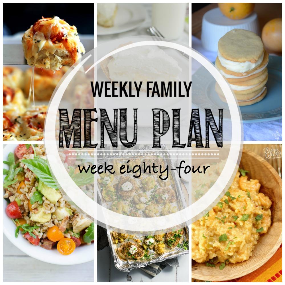 Weekly Family Menu Plan – Week Eighty-Four