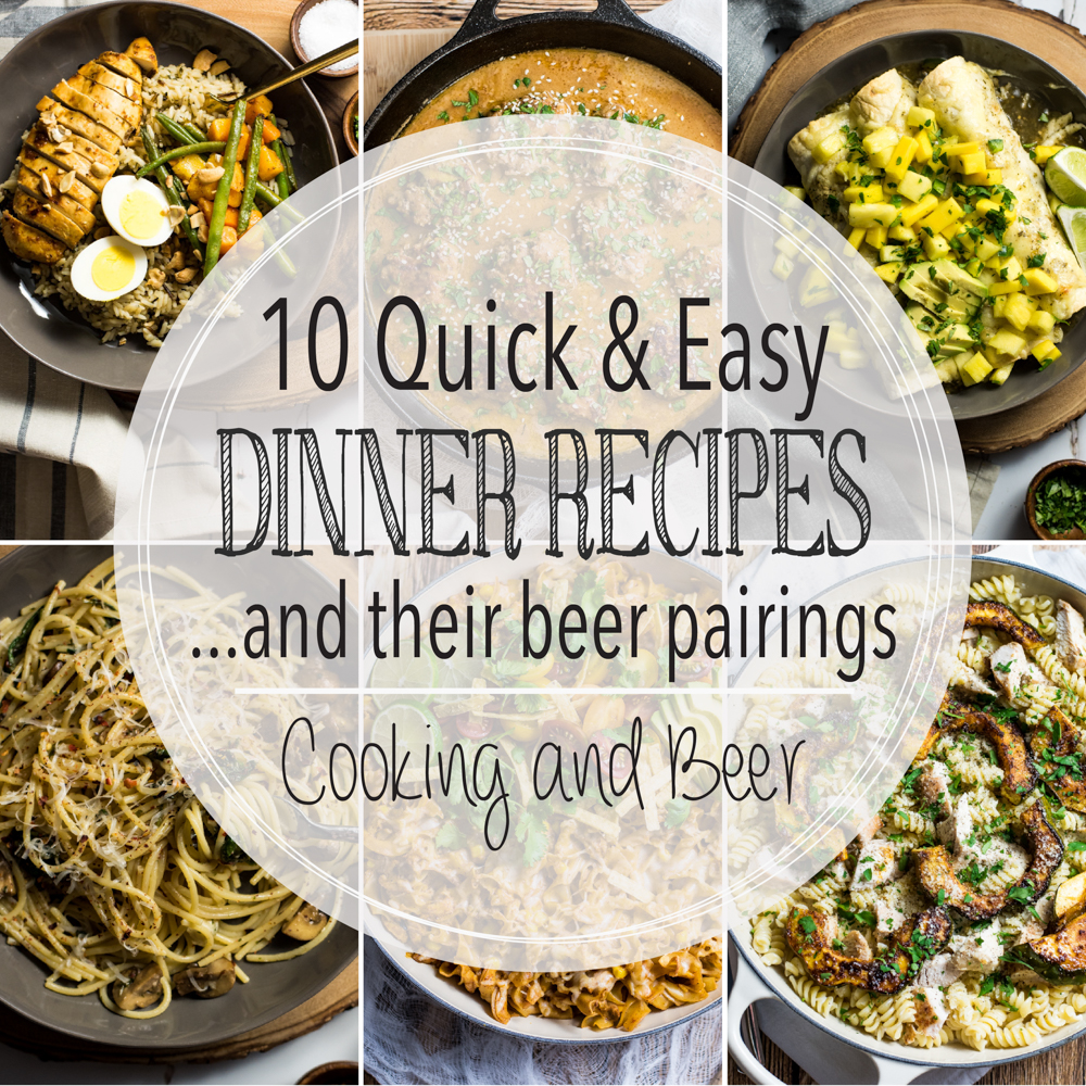 10 Quick and Easy Dinner Recipes
